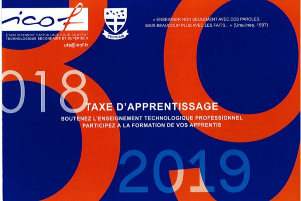Taxe d'apprentissage 2018