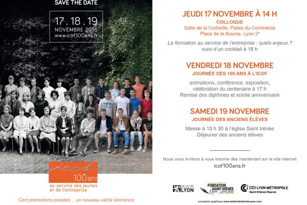 (Français) Centenaire de l'ICOF : SAVE THE DATE