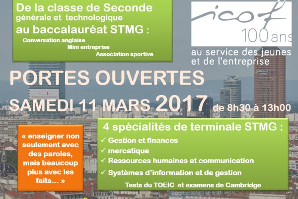 (Français) Journée portes ouvertes 2017 – lycée