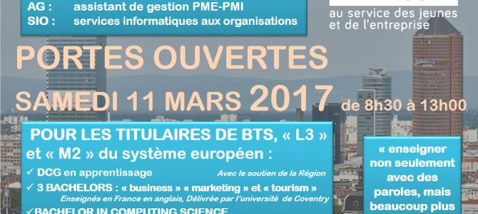 (Français) Journée portes ouvertes 2017 – supérieur