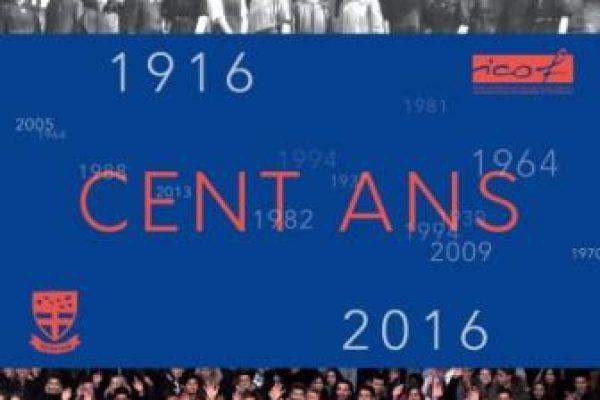 100 ans d'ICOF, le livre souvenir