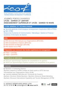 Affiche des formations ICOF