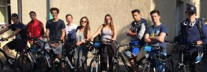 Les premières en vélo