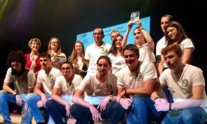 Geomino : prix de la meilleure Mini-Entreprise catégorie Post-Bac