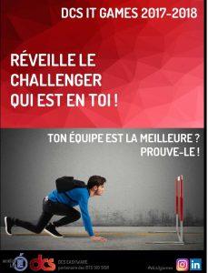 Affiche du challenge dsc it game